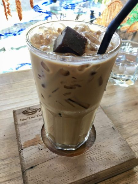 thai coffee nine one coffee nimman