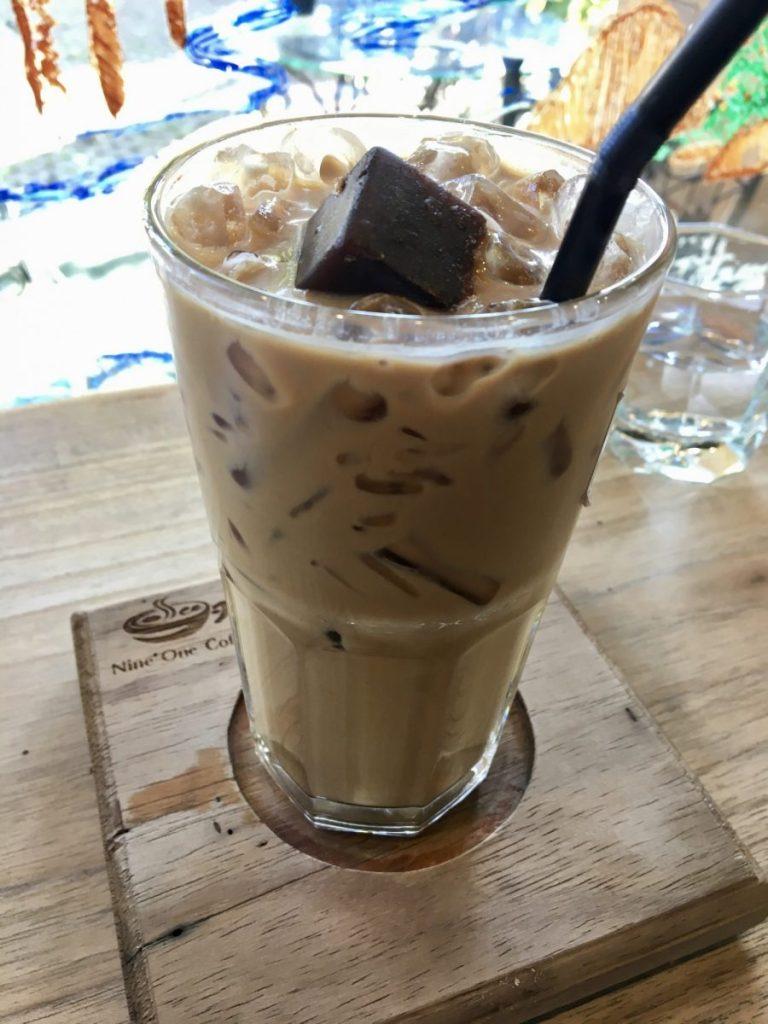 thai coffee nine one coffee nimman