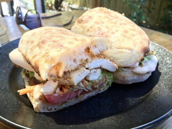 A Minor Place Melbourne Vegan Cajun Tofu Sandwich