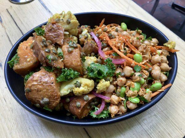Corner and Bench Melbourne CBD Vegan Options
