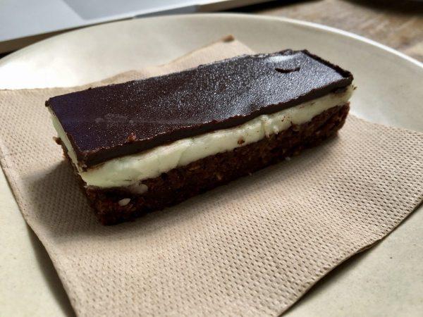Auction Rooms Cafe Melbourne Vegan Mint Slice