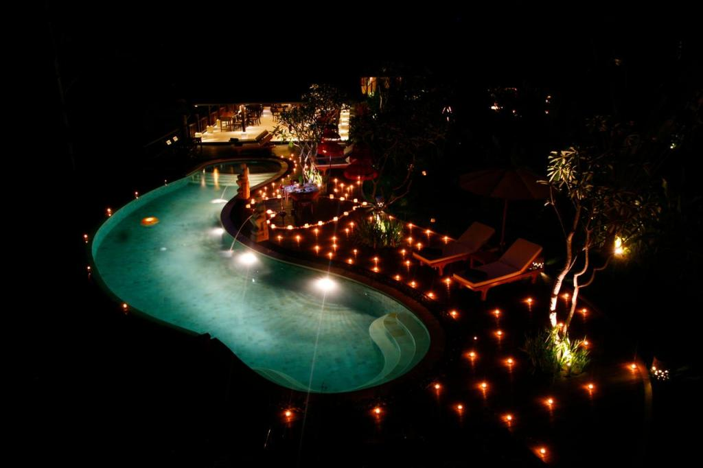 BeingSattvaa Vegetarian Retreat Villa Ubud Pool