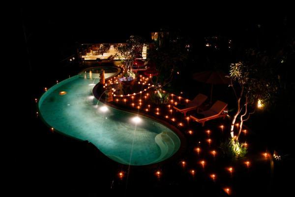 BeingSattvaa Vegetarian Retreat Villa Ubud Pool