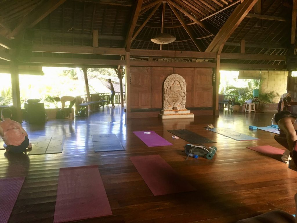 Yoga Barn Ubud Inside Big Studio