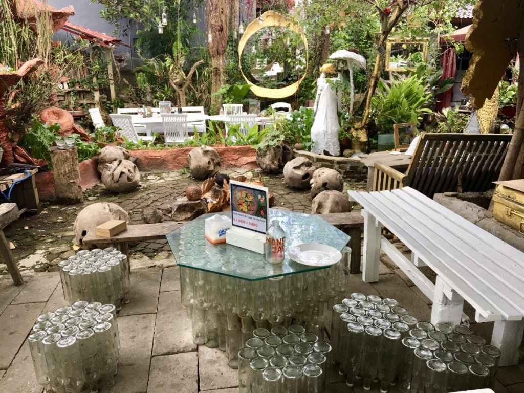9 Angels Ubud - Sitting Area