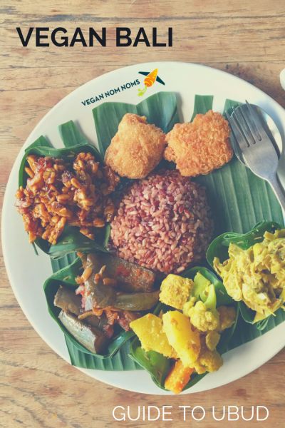 Pinterest image for vegan bali guide