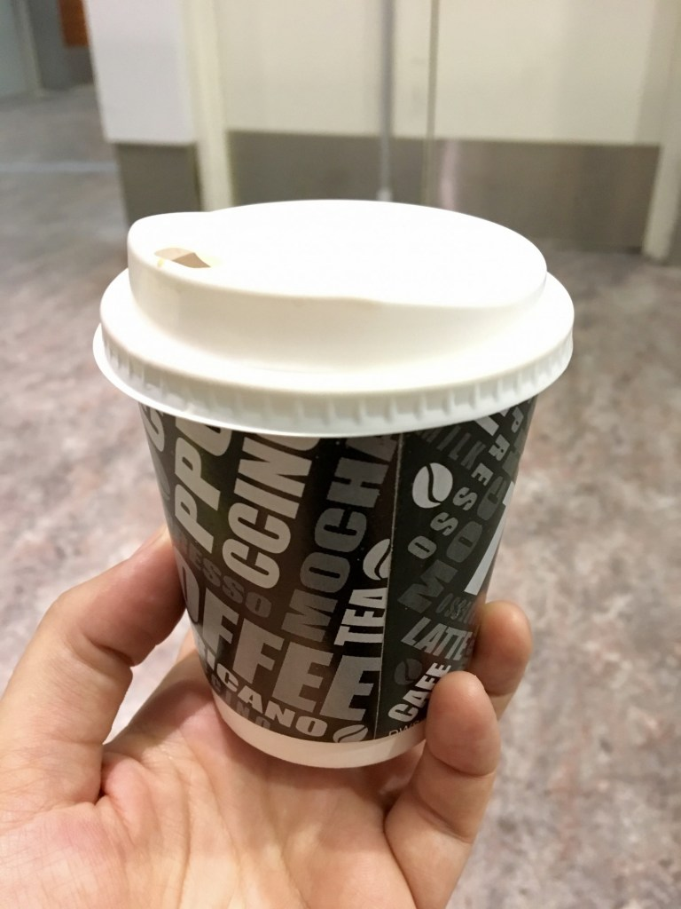 Vegan Kopi with Soy KLIA2 Airport