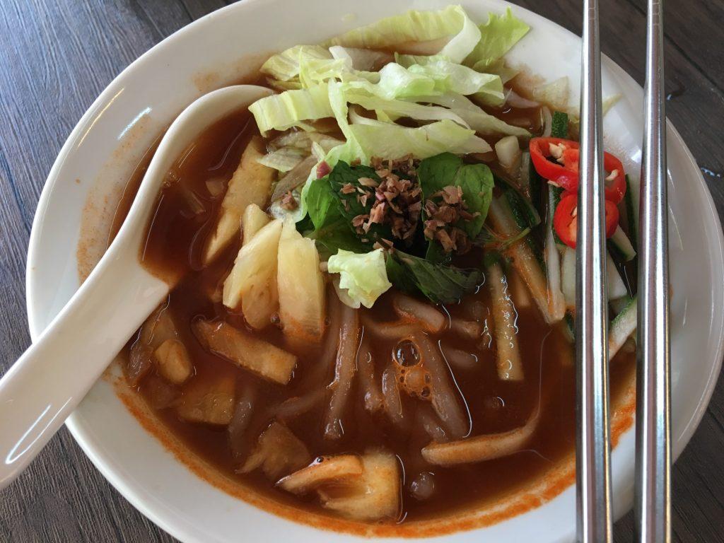 yun shui ge vegetarian house laksa