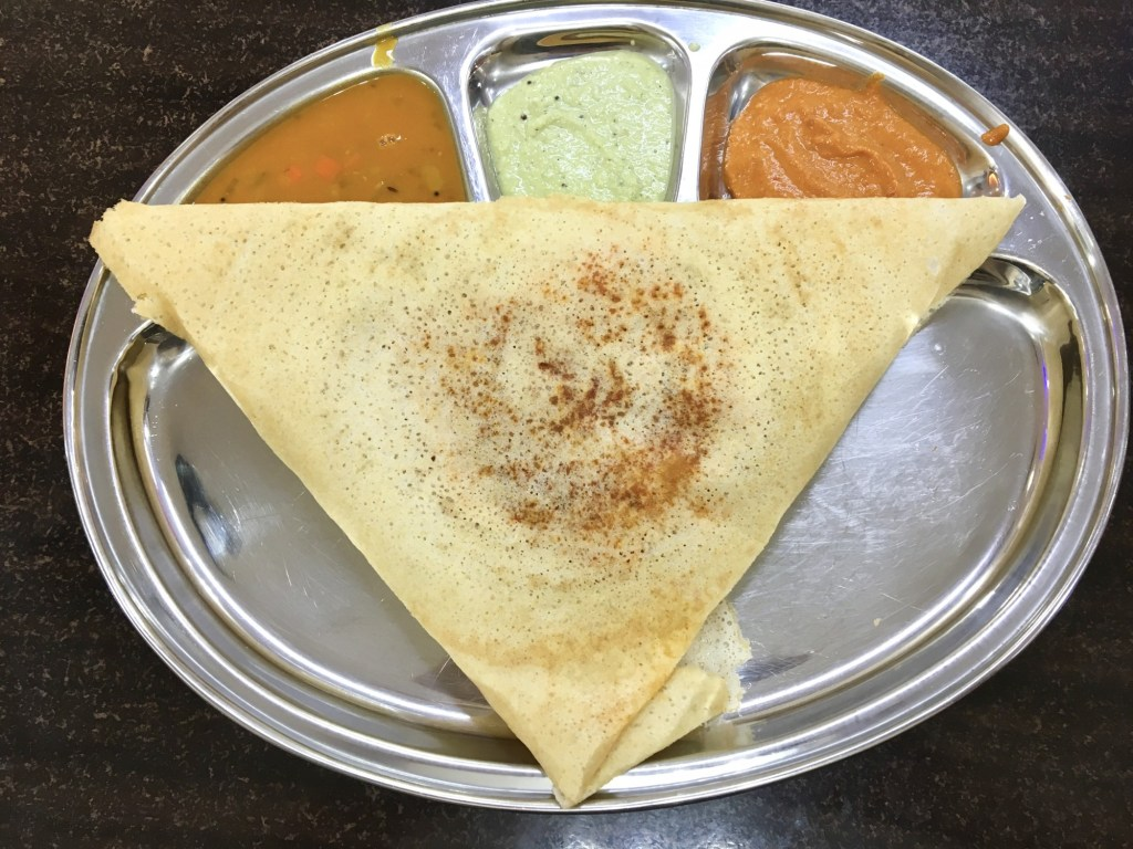 thali NR sweets cafe masala dosa