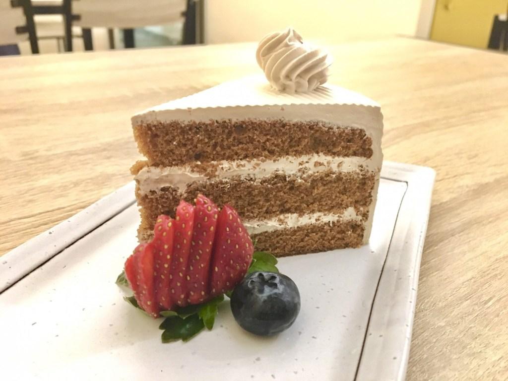 Lil'y Vegetarian Cafe vegan cake penang