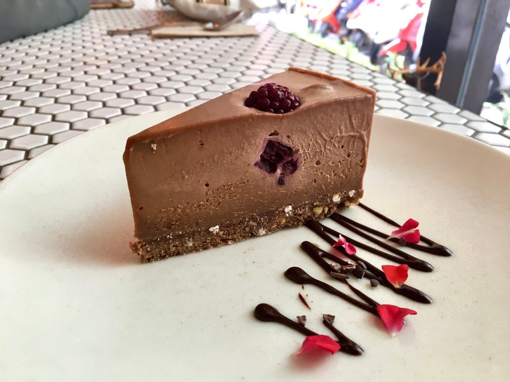 vegan mylk chocolate cheesecake from plants taipei