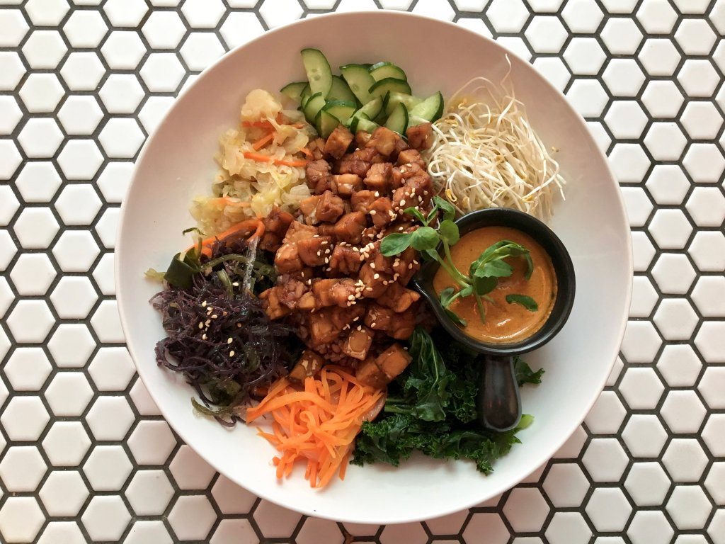 vegan buddha bowl from plants taipei