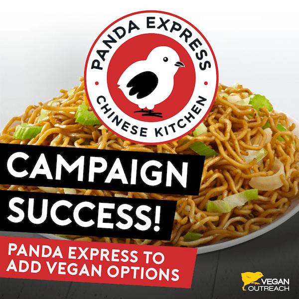 Panda Express to Add Vegan Options