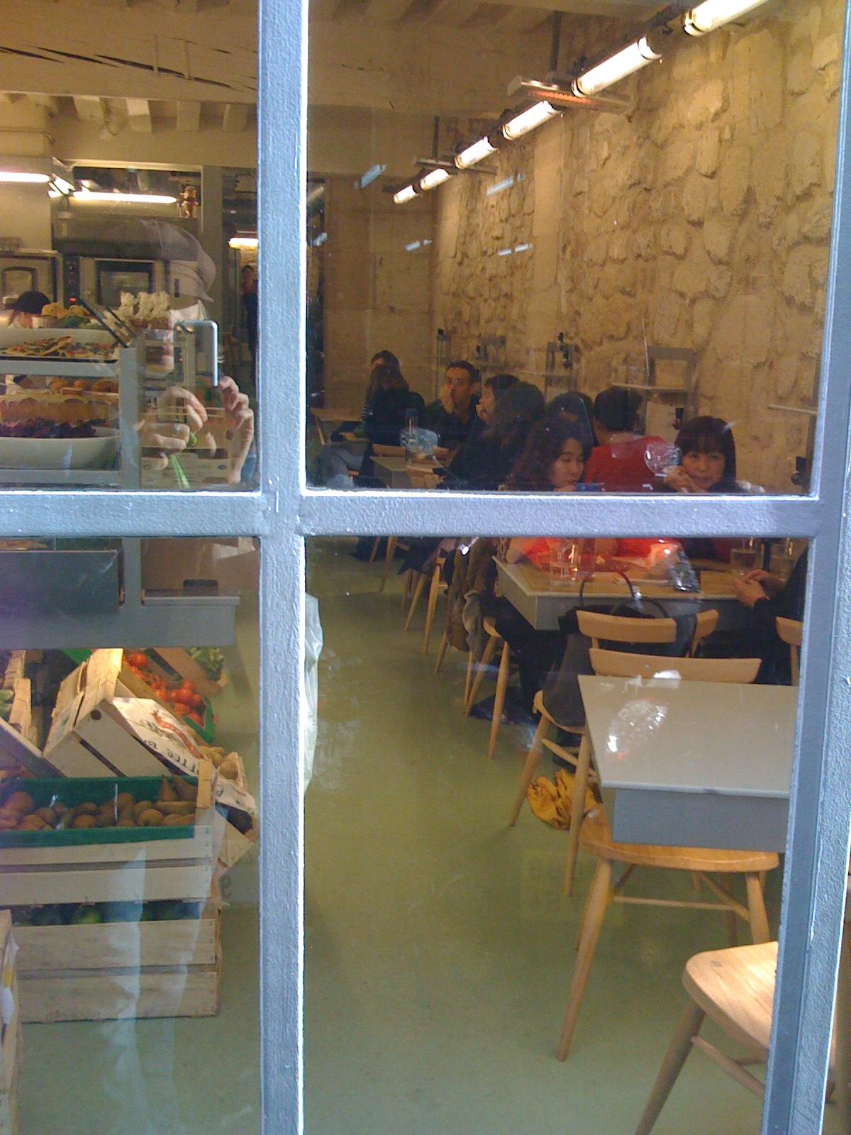 Inside Rose Bakery