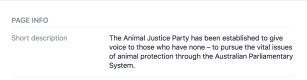 Animal Justice Party - Vegan Police