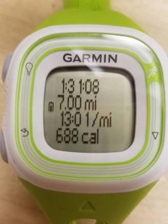 7 miles