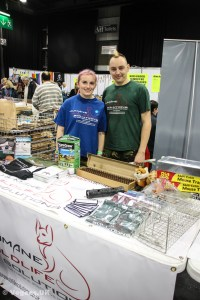 The team from Humane Wildlife Solutions