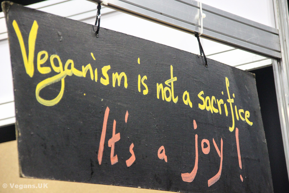 Veganism is a joy!
