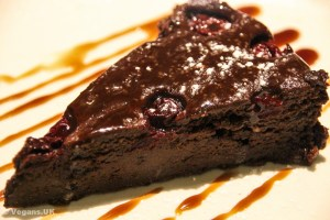 Chocolate and Cherry Torte