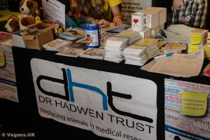 The Dr.Hadwen Trust stand