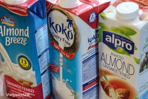 We like almond & coconut milk in our house