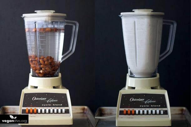 Vlastné rastlinné / orechové mlieko, za 5 minút a lacnejšie