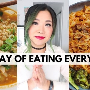 FULL DAY OF INDULGENT EATING (What a Vegan Food YouTuber Eats)