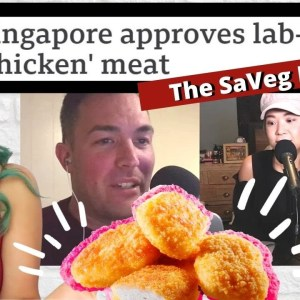 Should Vegans Support Lab Grown Meat? (Clip From The SaVeg Podcast)