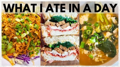 WHAT I EAT IN A DAY | VEGAN (+ Healthy Lifestyle Tips)
