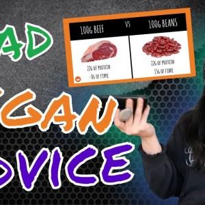Dani Reacts to Bad Vegan Advice | Vegan Proteins