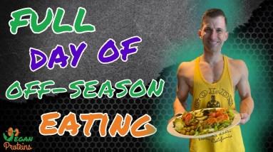 Full Day of Eating | Vegan Bodybuilding Offseason | Giacomo Marchese