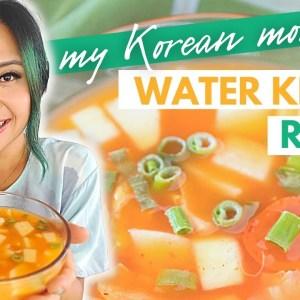 My Korean Mom's VEGAN WATER KIMCHI Recipe (Mul Kimchi / Nabak Kimchi)