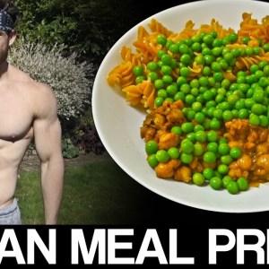 VEGAN BODYBUILDING MEAL PREP | HIGH PROTEIN