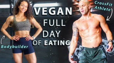 VEGAN Couple Full Day Of Eating | High-Protein