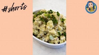 High Protein Potato Salad (Vegan) #shorts
