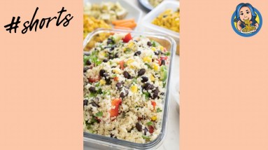 My Favourite Quinoa Salad (Vegan) #shorts