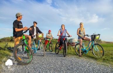Bike Tour Vegan Surf Camp