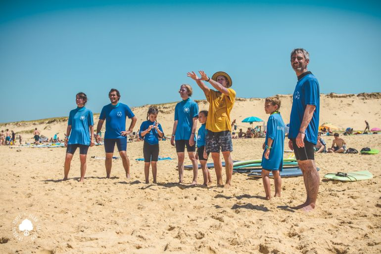Vegan Surf CampVegan Surf Camp Team 2019