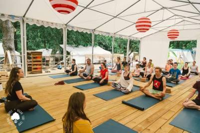 Yoga Tent Yoga
