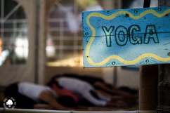 Yoga Tent