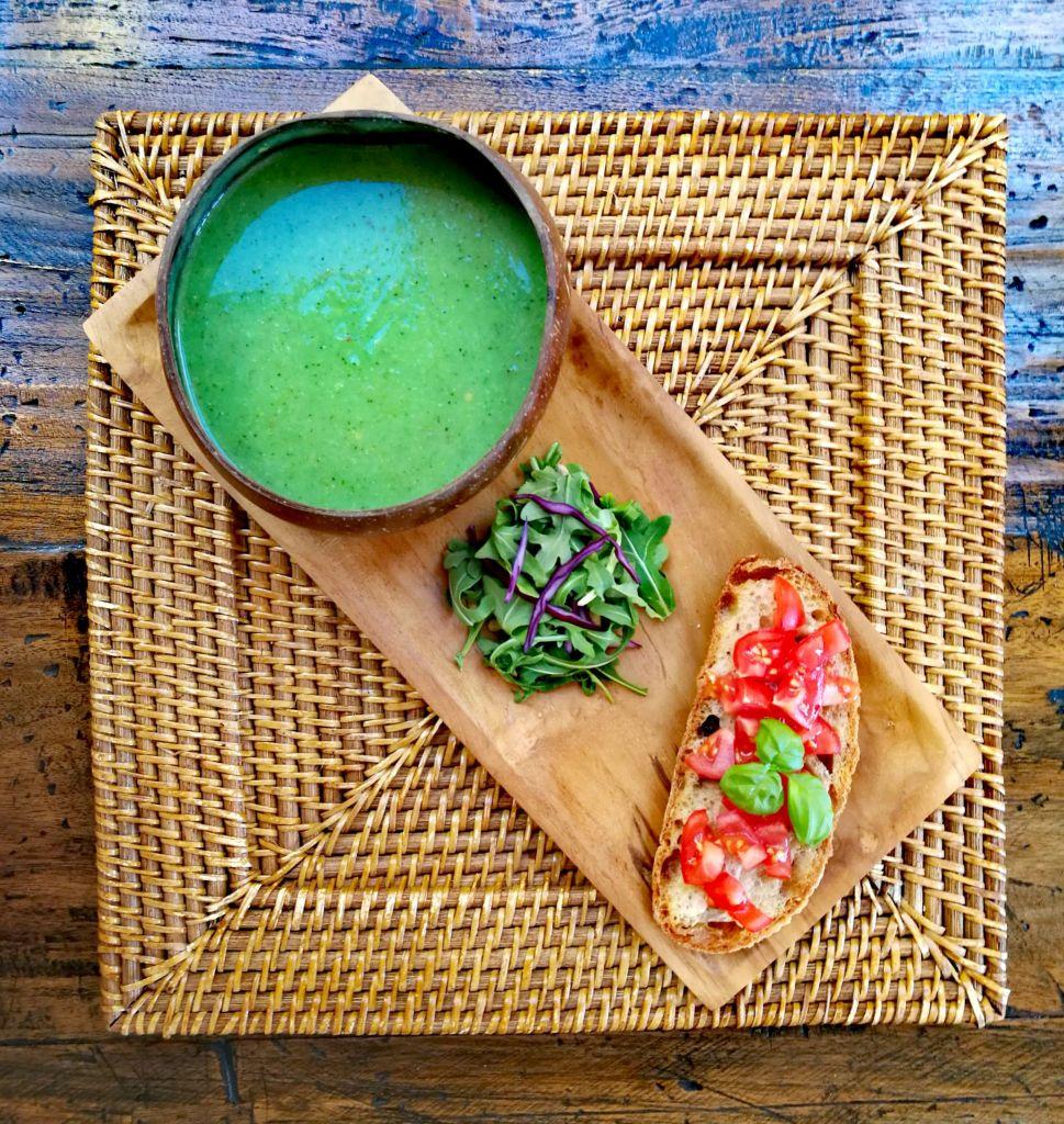 Broccoli, Leek and Potato Soup