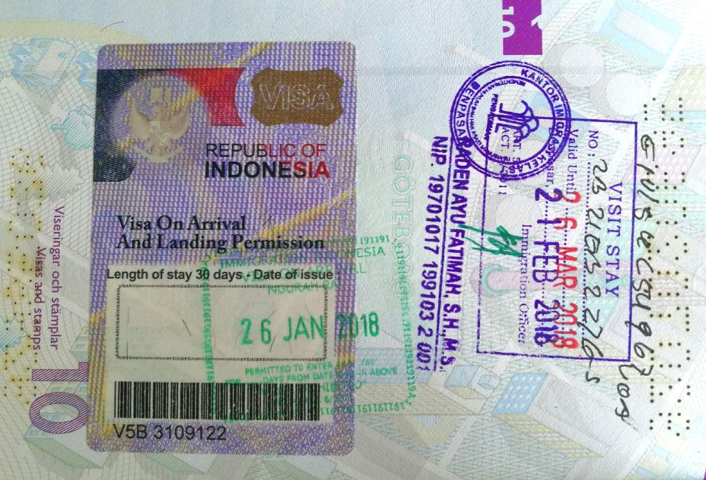 Bali Visa Extension