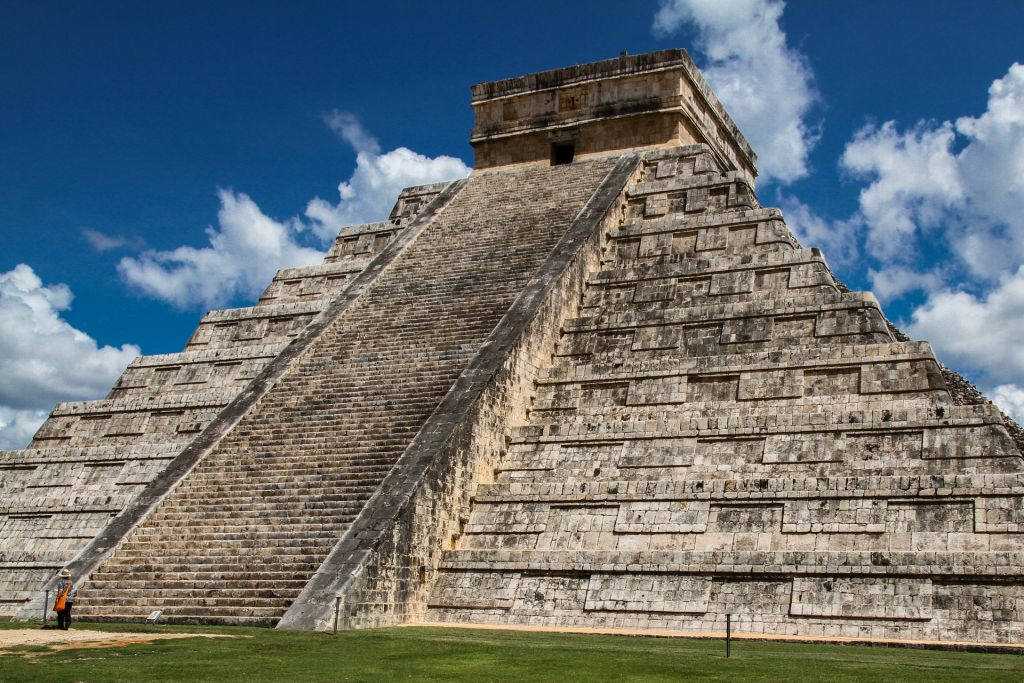 Ancient Temple in Central America