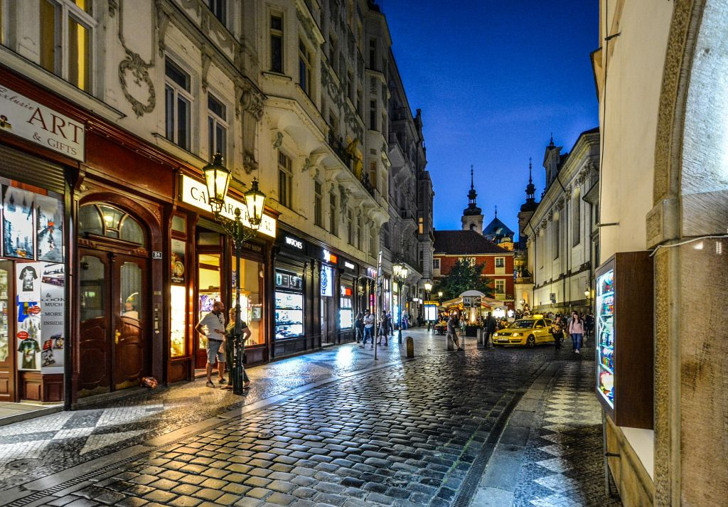 vegan restaurants in Prague