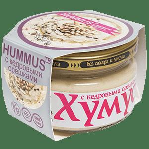 """Хумус с кедровыми орешками """"Тайны Востока"""", 200 гр"""