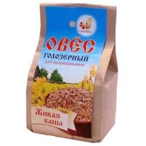 """Овес для проращивания голозерный """"Дивинка"""", 500 гр"""