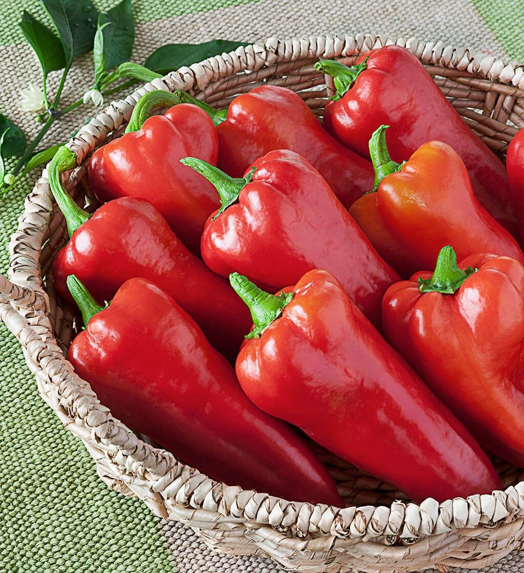 Bull's Horn Sweet Peppers