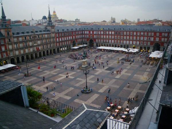 Madrid Travelling Vegan