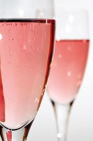 Pink Champagne for vegans