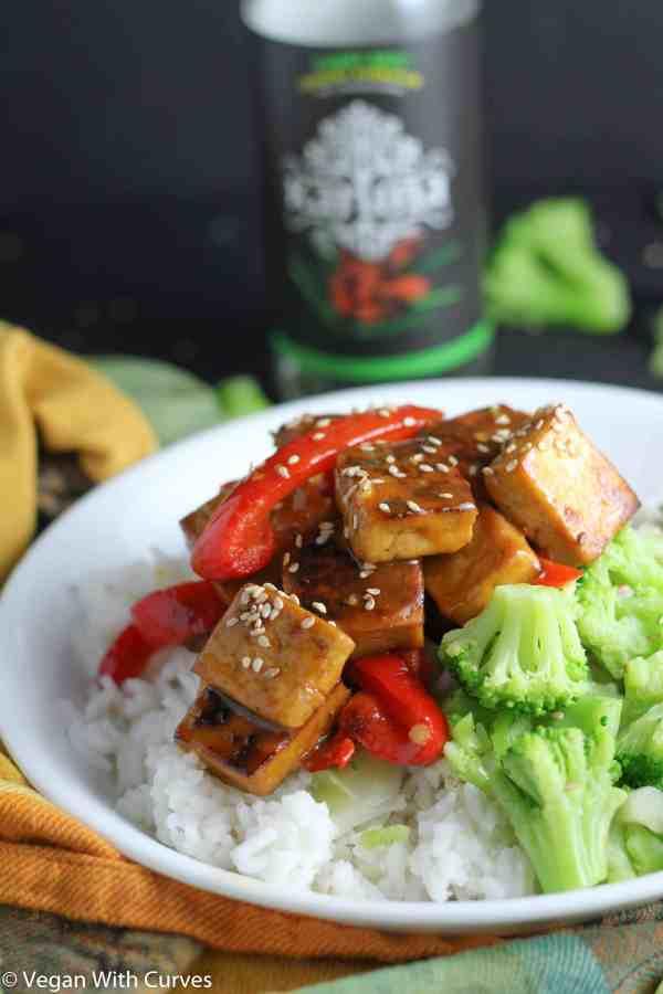 Glazed Tofu Buddha Bowl